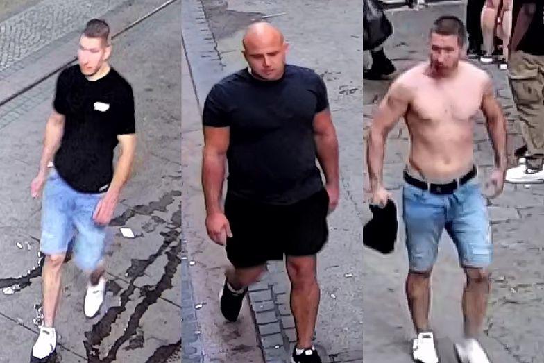 Brutalne pobicie w centrum Wrocławia. Policja publikuje zdjęcia podejrzanych
