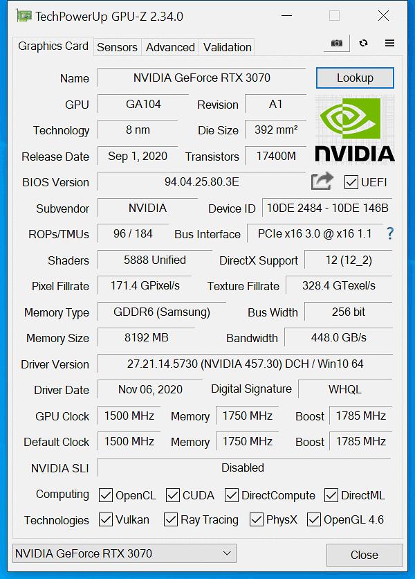 Porównanie specyfikacji trzech kart Nvidii.