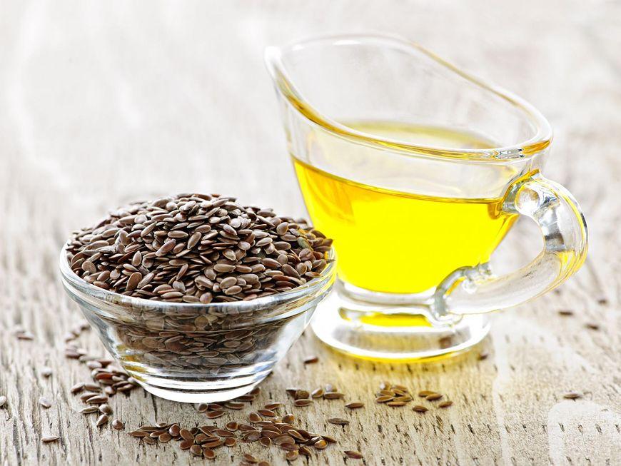 Olej lniany bogaty w kwas linolowy