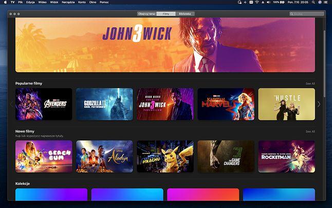 Apple TV na macOS Catalina