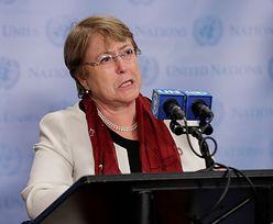 Chiny oskarżają Wysoką komisarz ONZ. Spór o łamanie praw człowieka w Hongkongu
