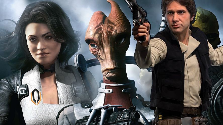 Wbrew pozorom w grze nie miał się wcale pojawić Han Solo