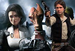 Były plany stworzenia gry w świecie Mass Effect z postacią inspirowaną Hanem Solo