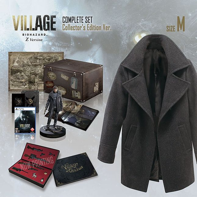 Resident Evil Village wersja kolekcjonerska z płaszczem