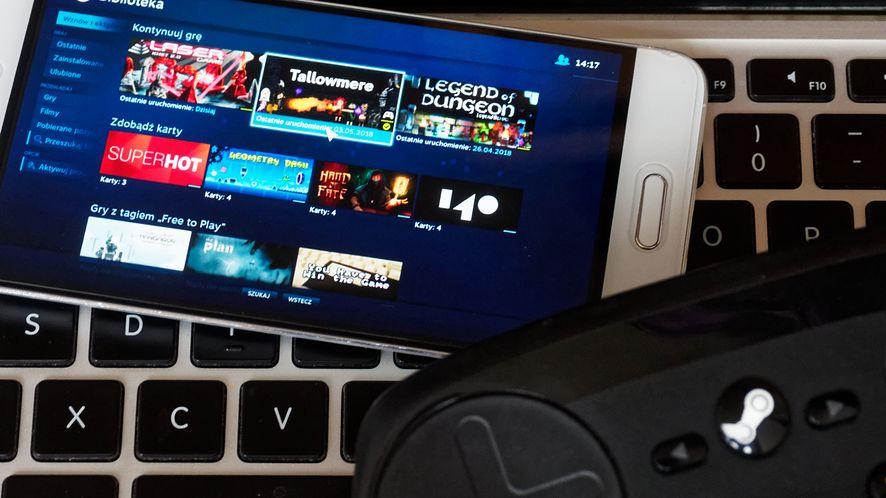 Steam Link dla Androida już dostępny, pozwala grać na smartfonie w gry z PC