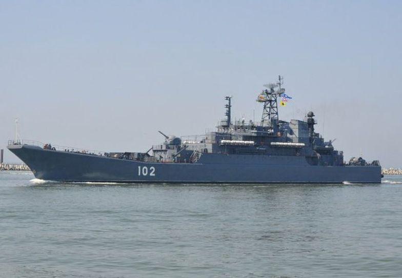 Rosyjski okręt wojenny wkroczył do Polski? Jest komentarz MON