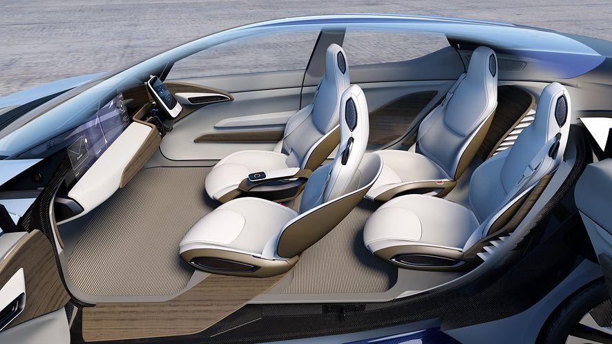 Kolejny producent pracuje nad technologią autonomiczną. Zdaniem ZF, taka przyszłość motoryzacji jest nieunikniona (fot. projekt Faurecia)