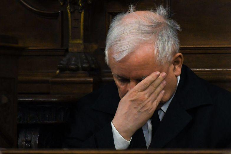 Jarosław Kaczyński może się załamać! Ten sondaż to duży cios dla PiS