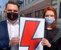 Strajk Kobiet. Liceum w Łodzi zakazuje błyskawic