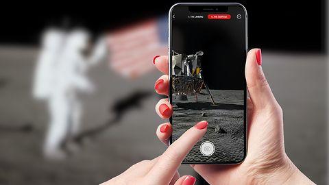 Lądowanie na Księżycu w rozszerzonej rzeczywistości. Jest na to aplikacja
