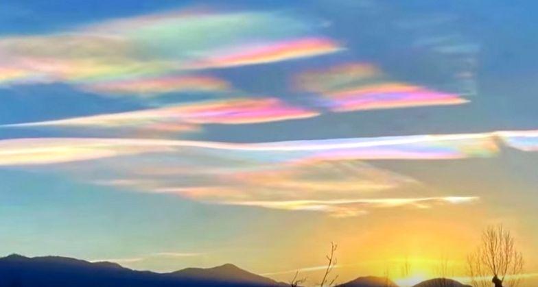 Niezwykłe rzadkie zjawisko na niebie. Tak piękne, że hipnotyzuje
