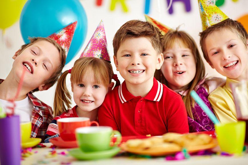 Przyjęcia dla najmłodszych