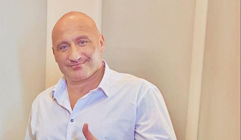 Marcin Najman ma powody do radości. Pomagał w zbiórce na szczytny cel
