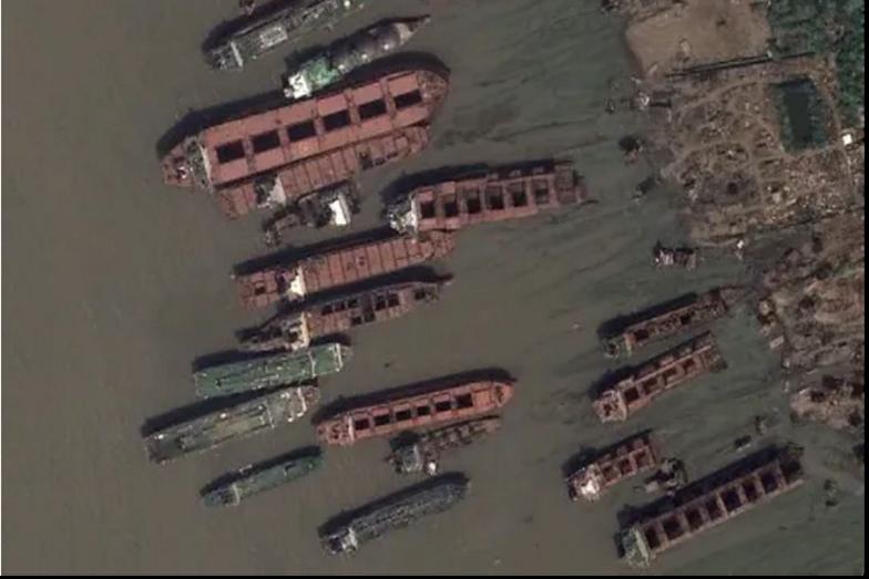 Bangladesz. Odkrycie na mapach Google. Już wiemy, co to jest