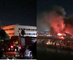 Irak. Spłonął szpital zakaźny. Ponad 50 osób nie żyje
