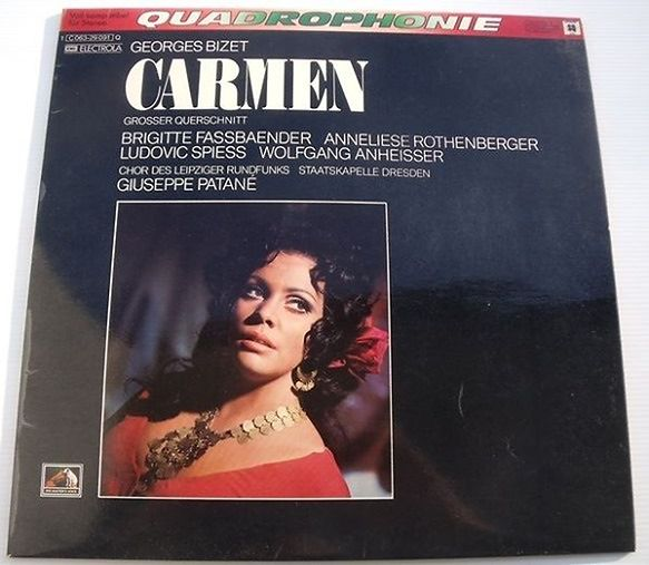 Płyta EMI Records 1C 063-29 091 Q, wydana równocześnie jako ETERNA 8 26 373