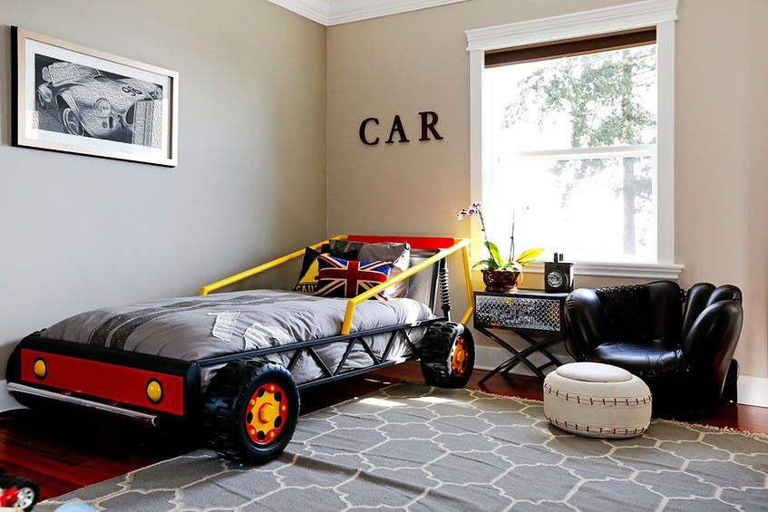 Pokój dla fana samochodów