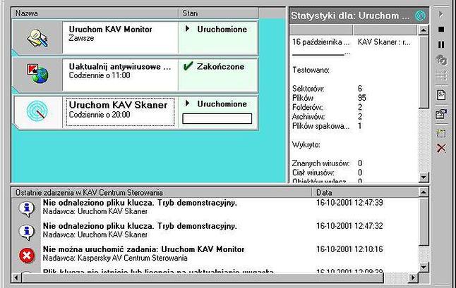 Kaspersky Anti-Virus Personal Pro 4 z 2002 roku.