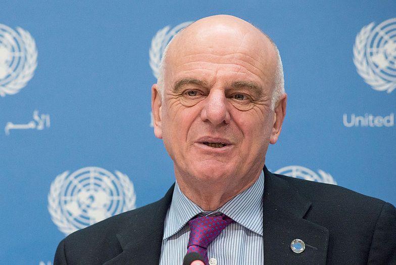 David Nabarro, wysłannik WHO ds. COVID-19.