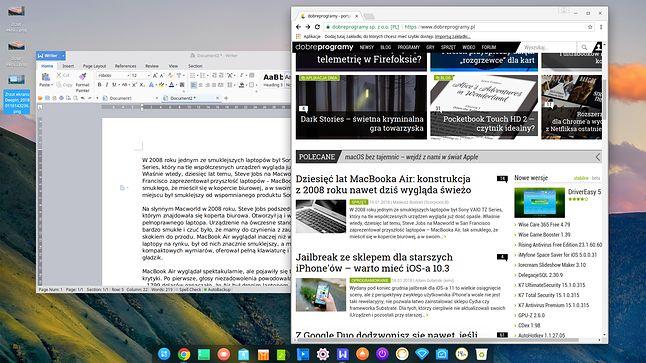 WPS Office i Google Chrome – własnościowe aplikacje na chińskim Linuksie