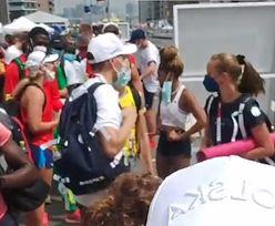 Duża wpadka organizatorów igrzysk. W takich warunkach Polka czekała na autokar