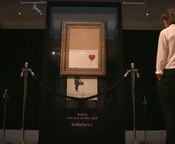 Sprzedali zniszczone dzieło Banksy'ego. Cena zwala z nóg