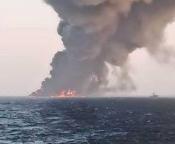 Największy irański okręt wojenny zatonął po pożarze