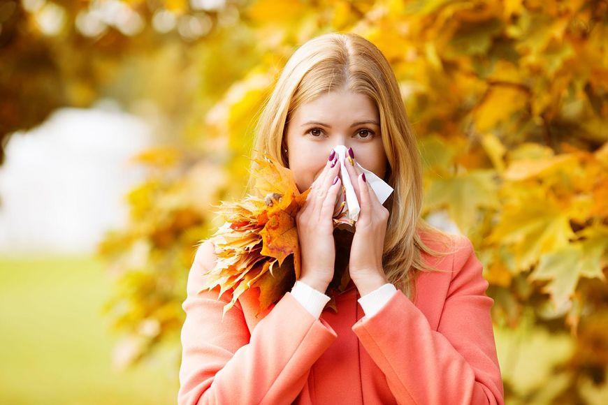 Objawy przeziębienia lub krwotok z nosa