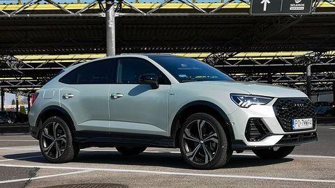 Audi Q3 Sportback: kamery 360 stopni, system Audi Pre sense basic & 360° i audio Bang & Olufsen
