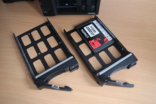 SSD w NAS-ie to na tyle ciekawy temat, że warto go poruszyć innym razem.