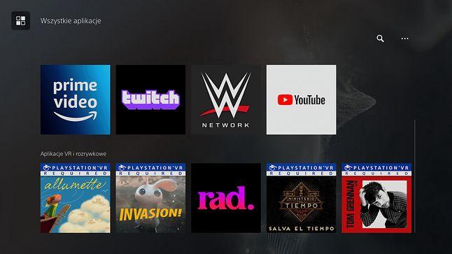 PlayStation 5 - interfejs
