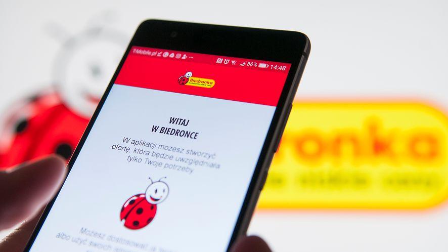 Biedronka otrzyma nową aplikację /fot. GettyImages