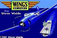 Wings of Fury — gra retro, która ciągle cieszy - Wings of Fury — czołówka Apple II