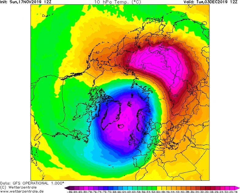 Pogoda. Zima 30-lecia jednak możliwa? Zapowiada się ciekawe starcie w stratosferze