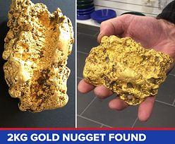 Australijska żyła złota. Znalezisko warte 130 tys. dolarów