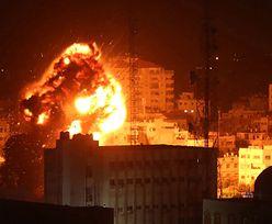 """Izrael """"dozuje"""" śmierć i zniszczenia w Strefie Gazy. Na razie bomby """"tylko"""" burzą"""