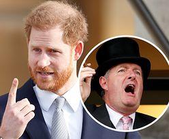 """""""Harry jest żałosny"""". Piers Morgan skrytykował oświadczenie księcia Sussex"""