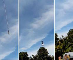 """Wypadek podczas skoku na bungee w Gdyni. Znany instruktor krytykuje firmę. """"Karygodne zaniedbanie"""""""