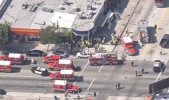 Samochód wjechał w tłum ludzi w Los Angeles