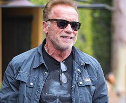 Arnold Schwarzenegger w iście amerykańskim wydaniu. Przyciągał wzrok na ulicach