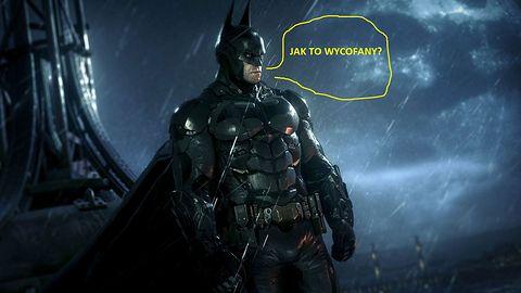 Batman: Arkham Knight wycofany ze sprzedaży na PC