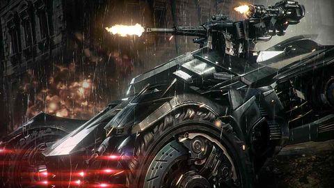Batmobil nowym mścicielem Gotham na świeżym materiale z Arkham Knight