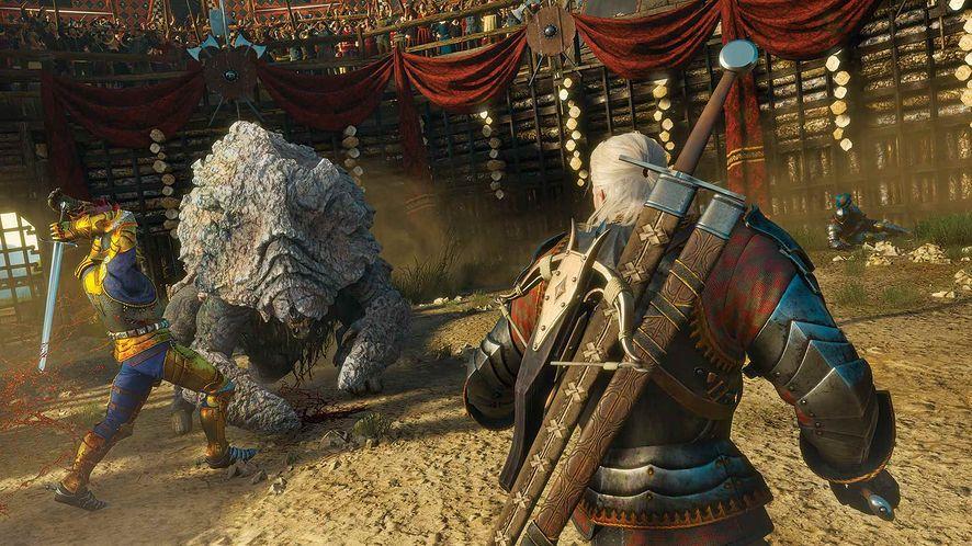 Wiedźmin 3 - uaktualnienie dla PlayStation 4 Pro wciąż powstaje