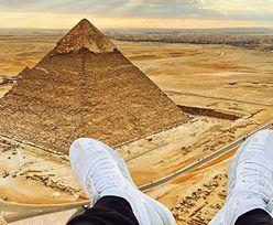 Słynny influencer zrobił sobie zdjęcie na piramidzie. Trafił do więzienia