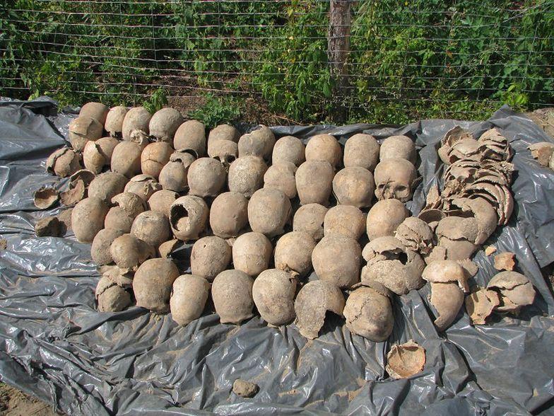 Odkryto szczątki około 3 tys. osób