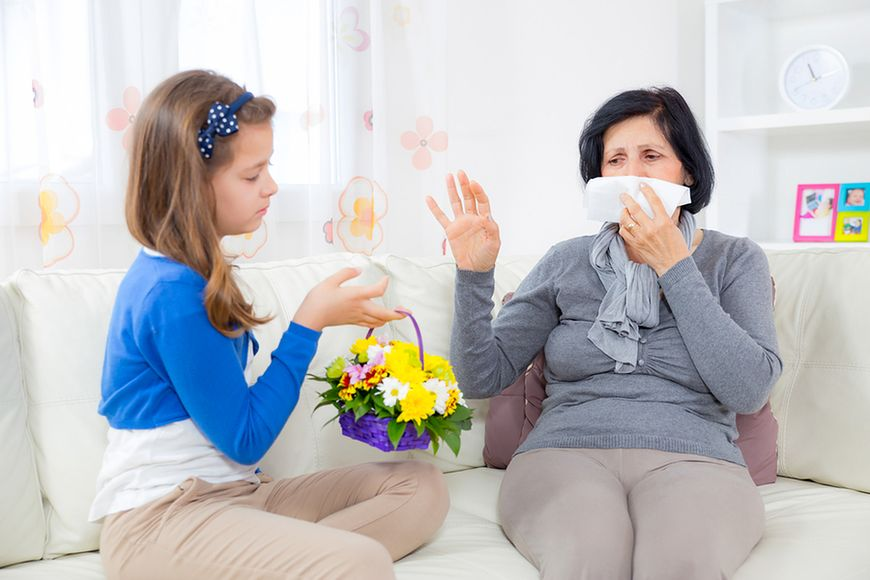 Alergicy vs. alergeny
