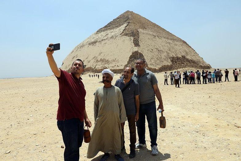 egipt piramida łamana