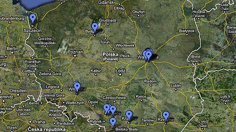 Mapa polskiego gamedevu