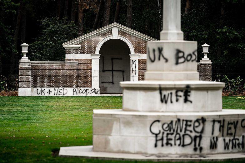 Szokujący akt wandalizmu w Holandii. Zniszczono groby z II wojny światowej