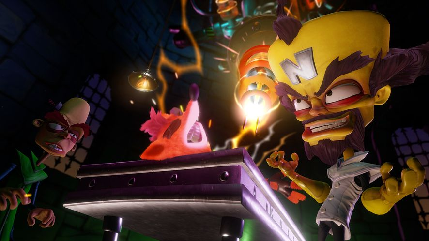 Tak wygląda remaster Crasha Bandicoota na PS4, czyli Crash Bandicoot N. Sane Trilogy